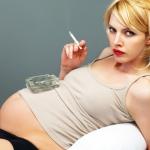 Почему беременной курить запрещается