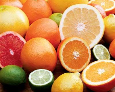 Фрукты с содержанием витамина С