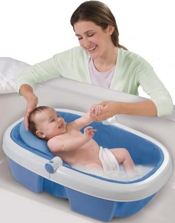 Как сделать чтобы малыш не лежал в ванной