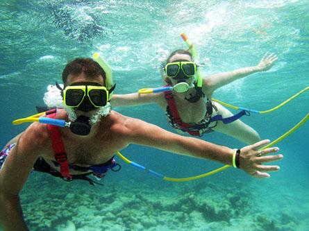 Морская вода и плавание