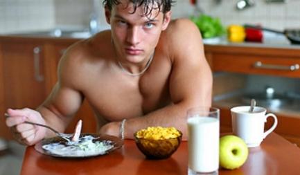 Мужчина на диете