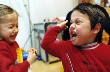 Агрессия ребенка в разном возрасте