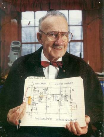 Изобретатель первого в мире кардиостимулятора
