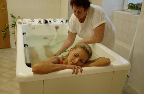 Самая популярная гидротерапевтическая процедура в санаториях