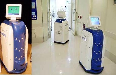 Panasonic разработал трех роботов для больных людей
