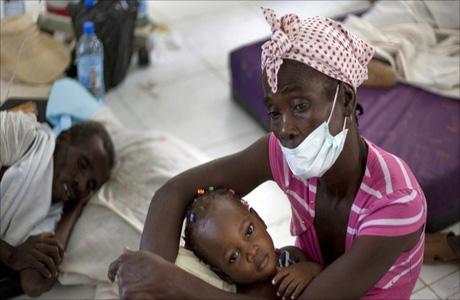 От эпидемии холеры на Гаити умерли более 6 тысяч человек
