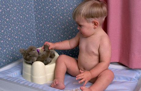Как научить малыша пользоваться горшком