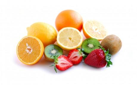Свежие овощи, фрукты, зерновая клетчатка