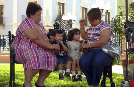 Ожирением страдает полмиллиарда человек на Земле
