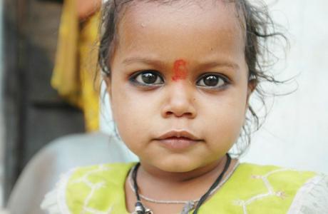 В Индии рекламируют рождение девочек