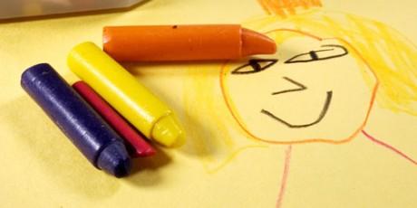 Ребенок-меланхолик может открыться как как талантливый художник