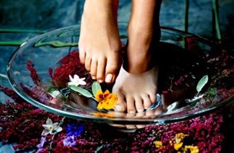 Чтобы убрать неприятный запах ног