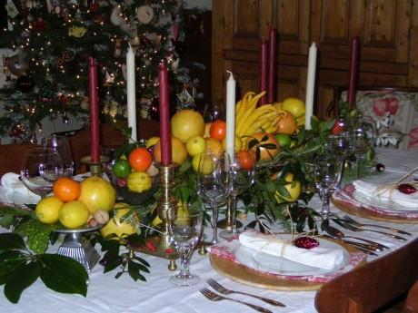 Сервируем новогодний стол