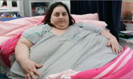 Британка с перепугу похудела на 130 кг