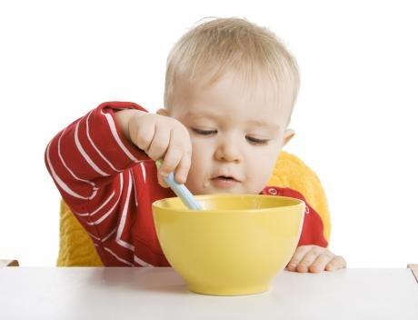 Приучайте малыша к аккуратности