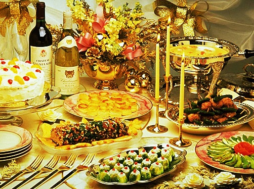 Спецтемы:Продукты на новогоднем столе