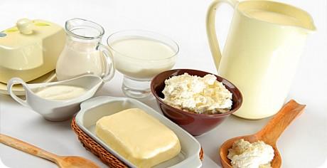 Больше кисломолочных продуктов