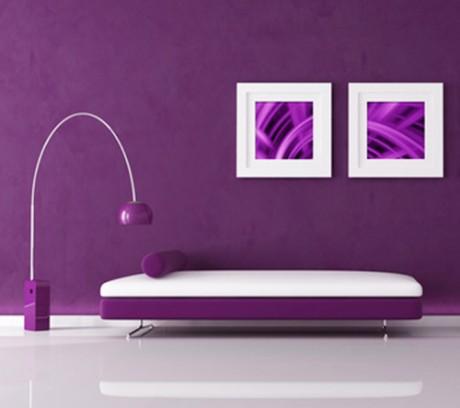 Утонченные натуры часто чувствуют потребность окружить себя фиолетовым цветом