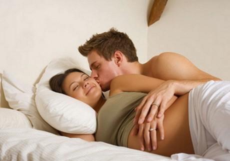 Какие сексуальные позы допустимы в период беременности
