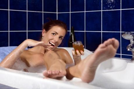 Простая медовая ванна