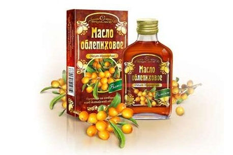 Облепиховое масло в нетрадиционной медицине