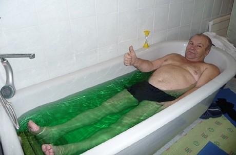 Сосновая ванна
