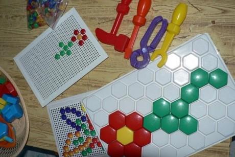 Мозаика ребенку 1-4 лет