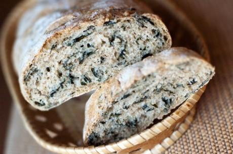 Хлеб с водорослями способствует похудению