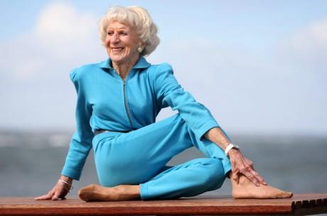 Особенности йоги для пожилых