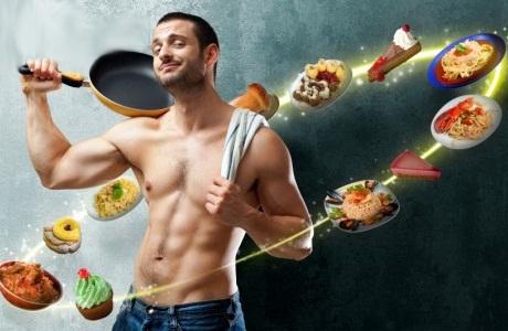 Спортивная диета для мужчин для идеального рельефа