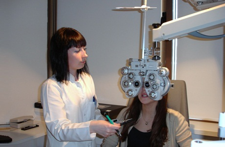 Офтальмологические услуги