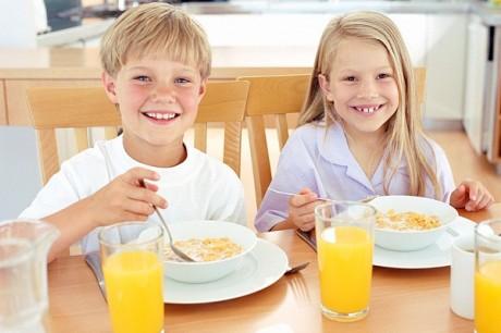Питание дома позволяет детям не толстеть