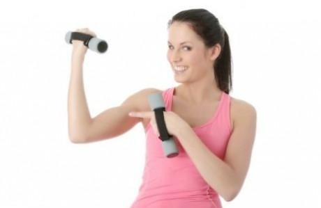 Эксперты советуют наращивать массу упражнениями с небольшим весом