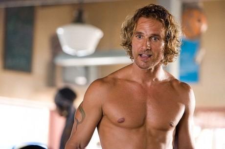 Мэттью МакКонахи: красивое тело благодаря серфингу и зарядке