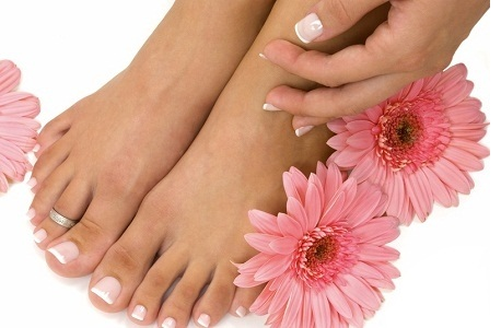 Избавляемся от грибка на пальцах ног