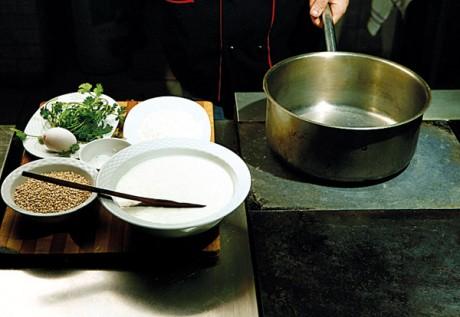 Рецепт окрошки на кефире