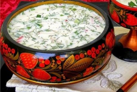 Рецепт освежающей летней окрошки