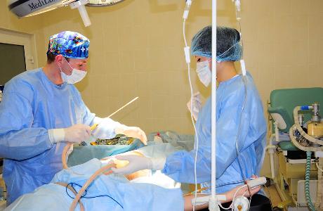 Хирургический вариант лечения бартолинита