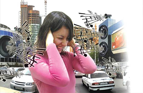 Для слуха вреден шум
