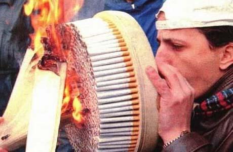 При желании можно бросить курить самому