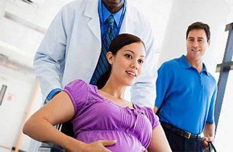 Беременной женщине