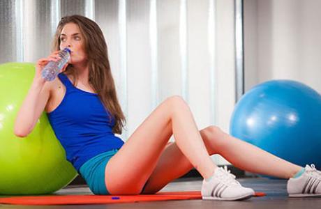 Спорт помогает при недержании
