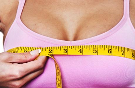 Размер молочных желез может измениться в дни менструального цикла