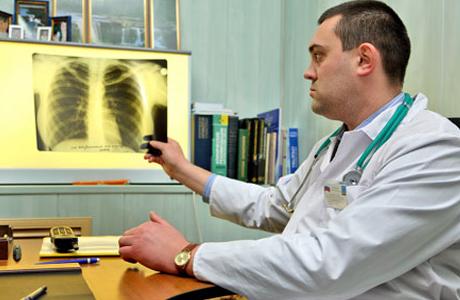 Внебольничная пневмония у пожилого человека
