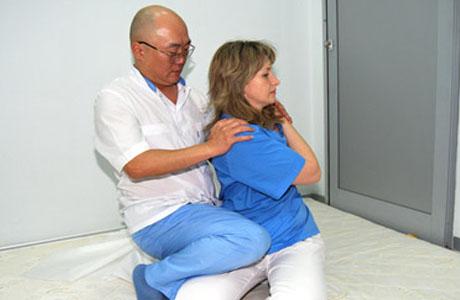 Лечение массажем Юмейхо